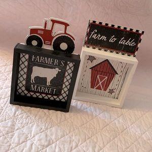 Mini Farmhouse Signs
